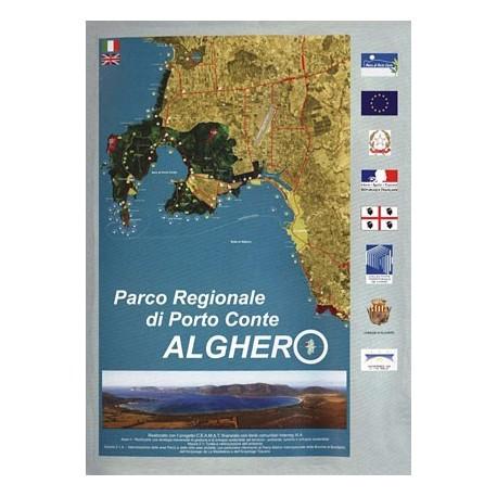 Mappa del Parco di Porto Conte