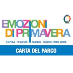 """Carta del Parco """"Emozioni di Primavera"""" - Singola"""